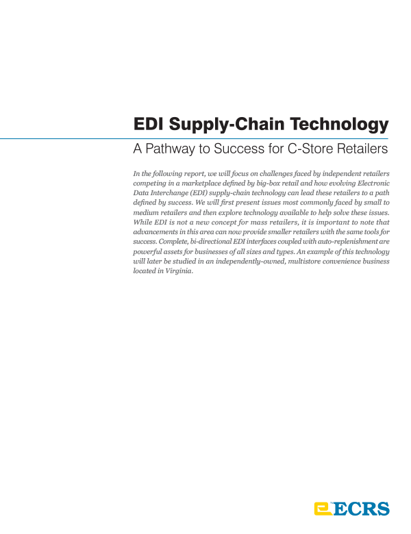 EDI Supply-Chain Technology